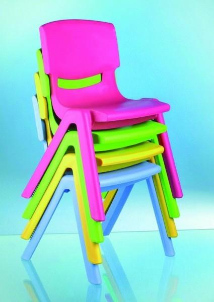 Kunststoffstuhl, stapelbar 12 Stück