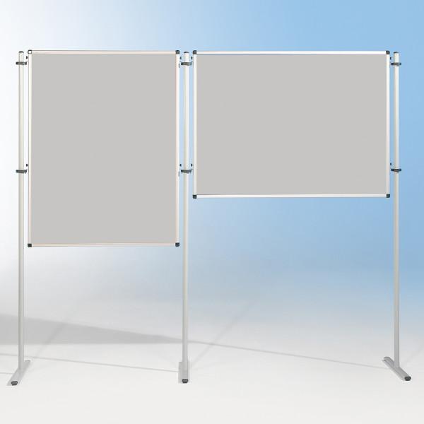 Schutzwand - Tafel mit Flanellstoffbespannung für Stativ