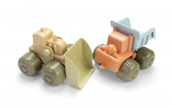 BIO PLAST - Bagger und LKW Set