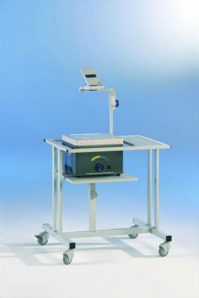 """Projektorwagen """"XL"""", mit höhenverstellbarer Arbeitsfläche"""