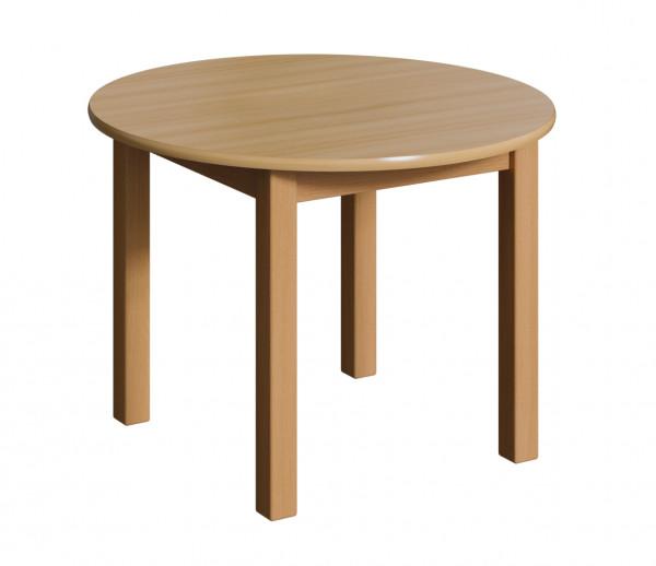 Holztisch - Rund, verschiedene Größen