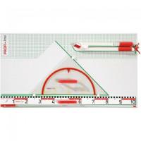 Gerätetafel Basic, magnetisch - Profi Line Zeichengeräte StarDraw