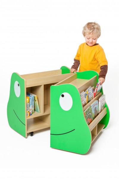 Kinder Bücherkiste mit Motiv - fahr- und klappbar
