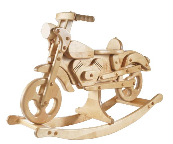 "Schaukelmotorrad ""Super"""
