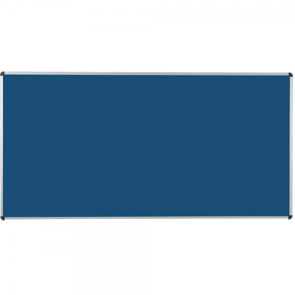 Langwandtafel Stahlemaille, blau