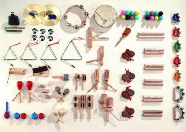 Instrumentensatz MUS1 - 103 Teile
