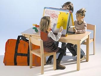 Kindertischtafel 60 x 50 cm