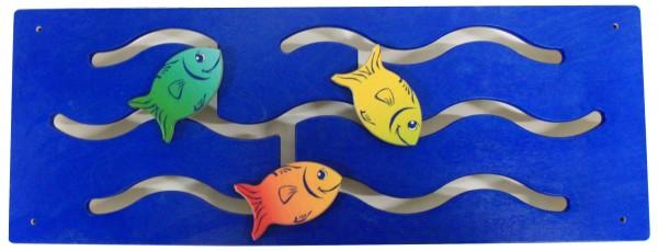 Wandspiele Fische & Schiff