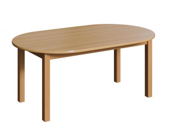 Holztisch - Oval, verschiedene Größen