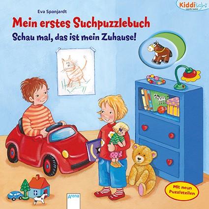 Mein erstes Suchpuzzlebuch: Schau mal, das ist mein Zuhause!!