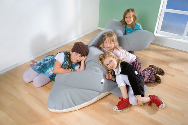 """""""Fino"""" der Delfin - Riesen Kuscheltier"""