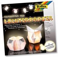 Lichterpapier, Faltblätter