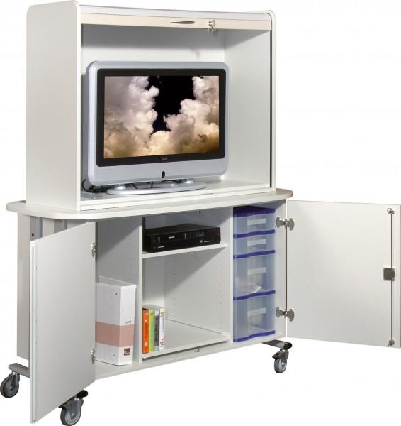 Medienwagen für Flachbildschirme