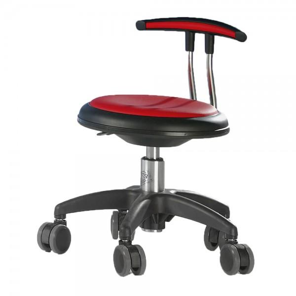 Drehstuhl Genito Eco mit Rückenlehne