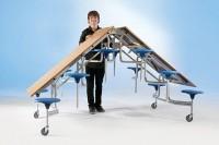Spaceflex Falttisch mit 12 Sitzplätzen