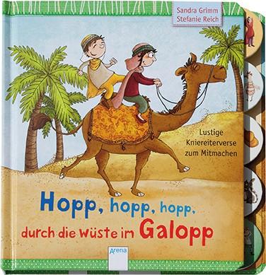 Hopp, hopp, hopp, durch die Wüste mit Galopp