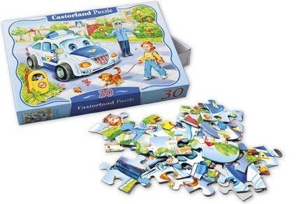 """Kinderpuzzle """"Polizei"""""""