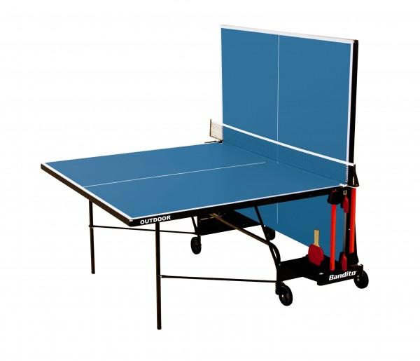"Wetterfeste ""Outdoor"" Tischtennisplatte inklusive Netz"