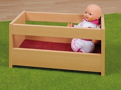 Puppenbett inkl. Matratze