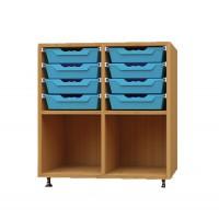 Sideboard mit Ergo Tray Boxen, Größe M und L