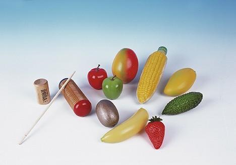 Shaker-Maracas in Früchteform