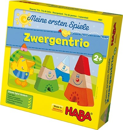 HABA® Meine ersten Spiele - Zwergentrio