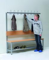 Umkleidebank einseitig, 150 cm