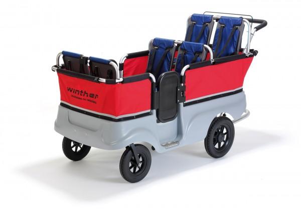 Turtle Kinderbus Basic für 6 Kinder