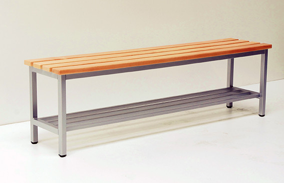 Sitzbank mit durchgehender Sitzfläche - verschiedene Breiten