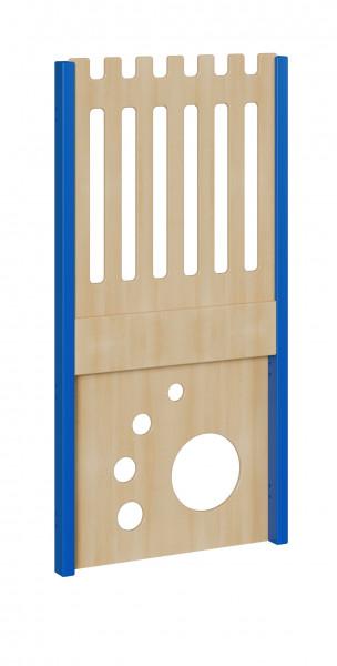 """Seitenelement für kleine Spielburgen, unten Tatze, oben Zaun, verschiedene Breiten """"S und B"""""""