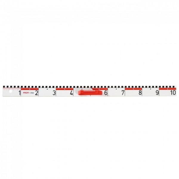Zeichenlineal 10dm, magnetisch - Profi Line Zeichengeräte StarDraw