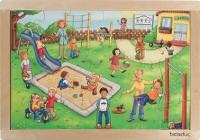 Rahmenpuzzle - Kindergarten
