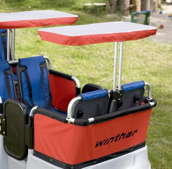 Sonnenschutz für 2 Sitzplätze
