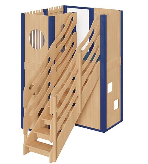 Große Spielburg mit Treppe