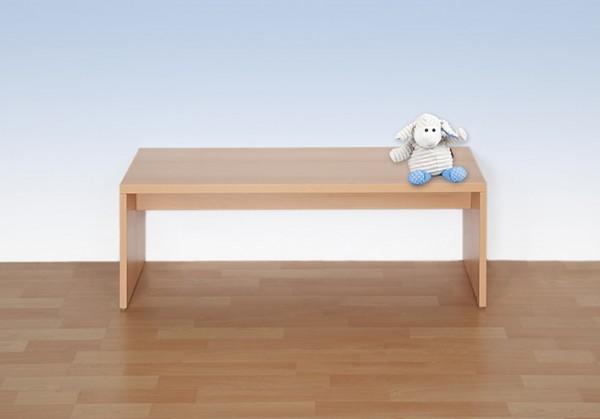 Einfache Sitzbank mit Holzunterzug