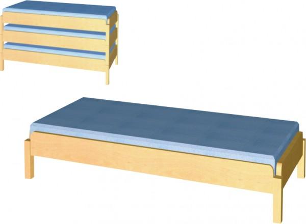Krippen-Stapelbett, mit oder ohne Matratze