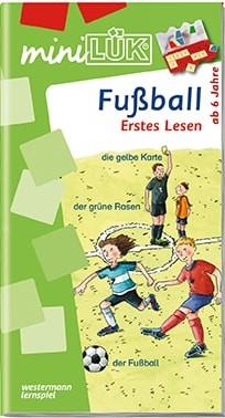"miniLük Übungsheft ""Fußball – Erstes Lesen"""