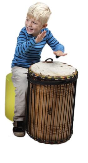 Basstrommel Sangba