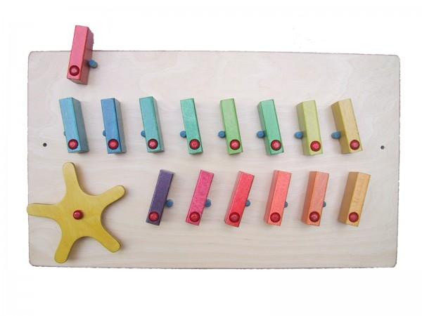 Wandspiel Dominos