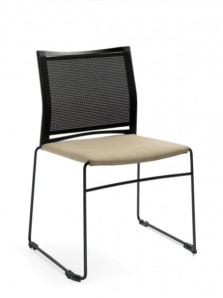 Stuhl Diane - Polster / Netzstoff