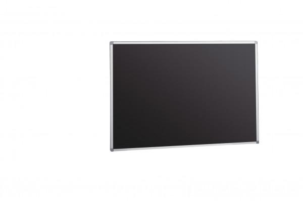 Langwandtafel schwarz, Stahlemaille, Edge-Line