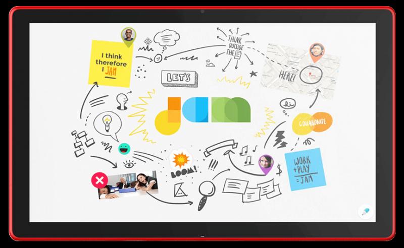 Die Zukunft im Klassenzimmer - das Google Jamboard