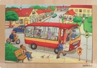 Rahmenpuzzle - Stadt