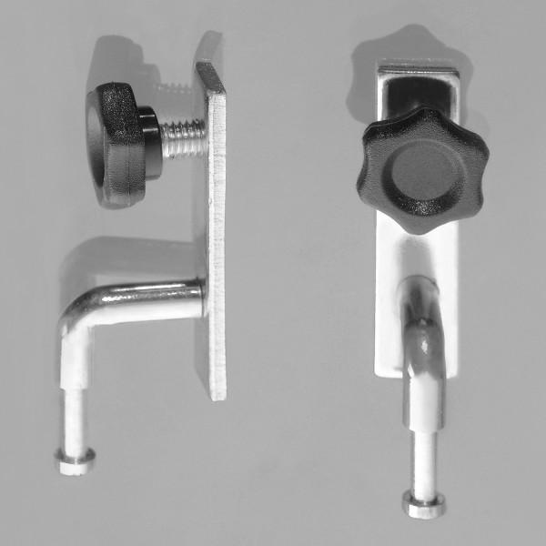 Ersatzschlitten - Einhängeschlitten für Stecktafel Stativ