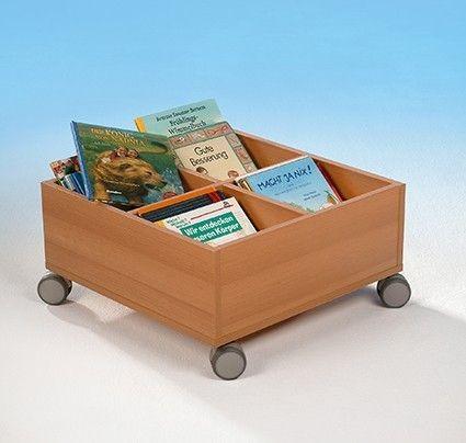 Bücher oder Spielrollkiste