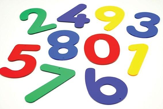 Acryl - Zahlen & Buchstaben