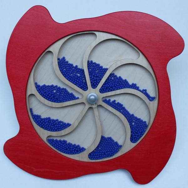 Wandspiele Wasserrad & Regenblume