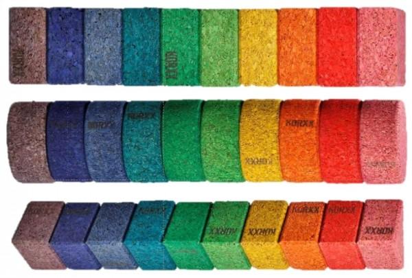 KORXX Bausteine Mix, verschiedene Farben