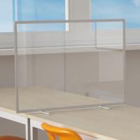 Tischtrennwand mit Acrylglas