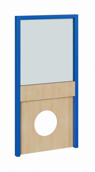 """Seitenelement für kleine Spielburgen, unten Kreis, oben Plexiglas,verschiedene Breiten """"S und B"""""""